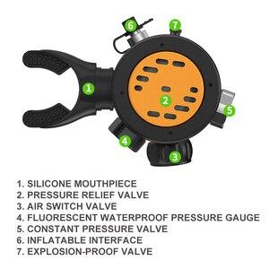 Image 2 - SMACO Diving Equipment Mini Scuba Diving  Oxygen cylinder head parts S500