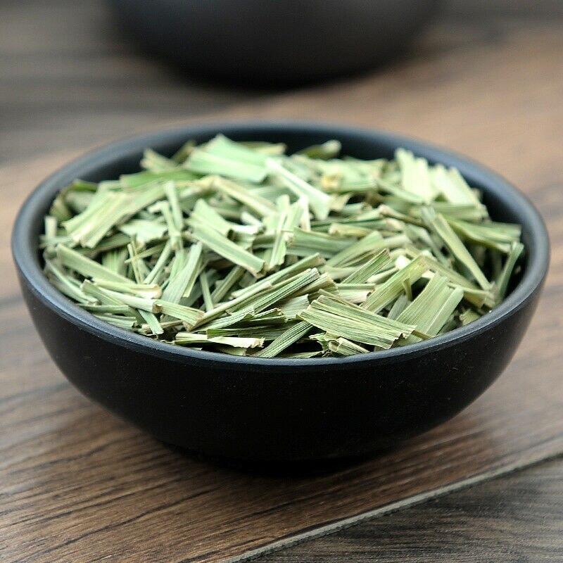 ตะไคร้มะนาวรสสมุนไพรชา Cymbopogon Citratus Citronnelle มะนาวหญ้าชาจีนสีเขียว Ecological ชา