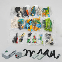 WeDo Robotics Construction Bulk Bricks Parts Building Blocks Compatible logoes Technic EV3 45300 Wedo 2.0 Educational DIY Toys