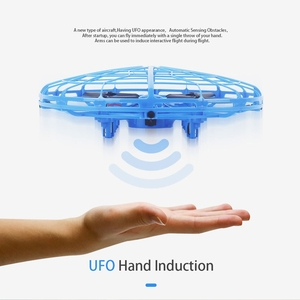 Image 5 - طائرة صغيرة بدون طيار UFO بدون طيار مع كاميرا إيماءة الجاذبية التعريفي طائرات بدون طيار كوادكوبتر المضادة للتصادم ماجيك اليد UFO الكرة الطائرات لعبة أطفال