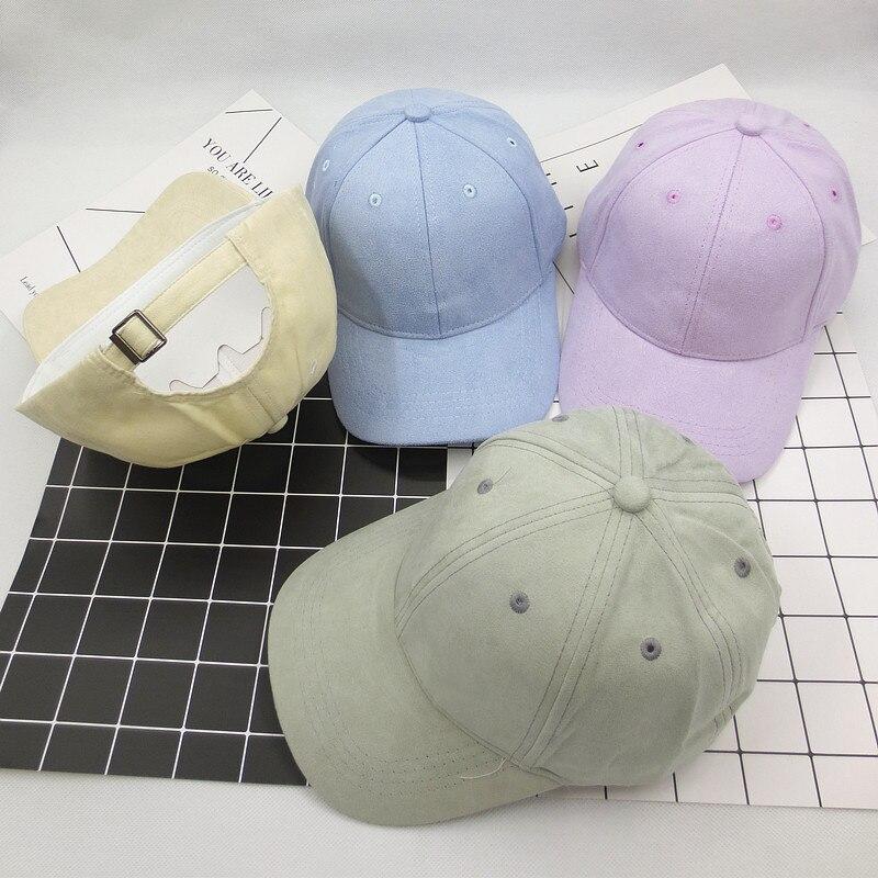1Pcs Trendy Candy Color Streetwear Baseball Cap For Women Men Snapback Orange Purple Hat Summer Trucker Cap Hip Hop Gorras