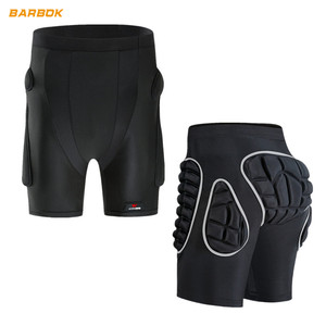 WOSAWE Protective Motorcycle Short Soft Pad Ski Snowboard Pants Protection Gear Hockey Body Armor Motocross MTB Protected Shorts