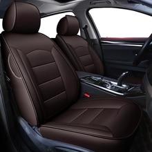 Kokololee Funda de asiento de coche de cuero auténtico, personalizada, para bmw e46 e39 e36 e90 x1 x5 x6 e53 f11 e60 f30 x3 e83, cubierta de asiento de automóviles
