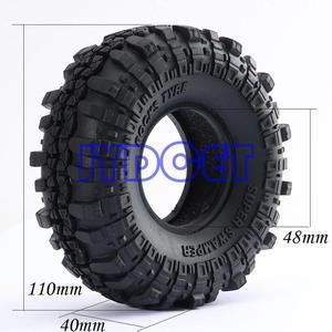 "Image 2 - 4pcs 1.9"" Super Swamper Rocks Tyre Tires 7035 For RC 1/10 Climbing Rock Crawler"