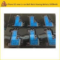 1PC High Quality Tested OEM Full Capacity XS Li ion Battery For iPhone XS 2658mAh Rear Back Housing Door inner Battery