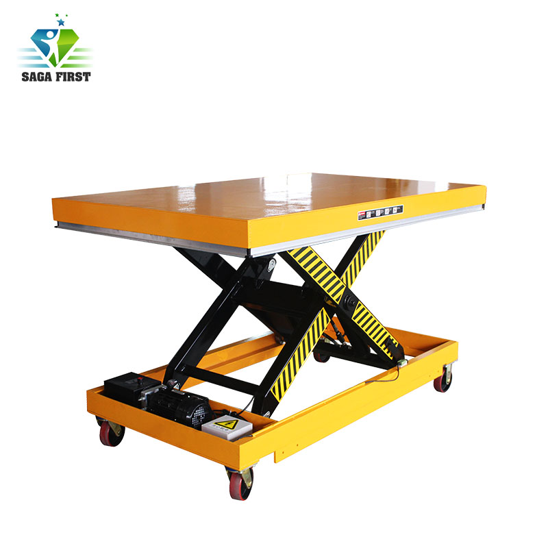 Stationary Scissor Lift Table/hydraulic Lift Table With CE Certificate