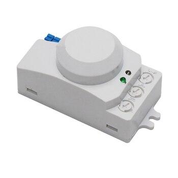 Mikrodalga Anahtarı Hareket Vücut Motion Radar Dedektör Sensörü ışıkları Anahtarı Ev Z-dalga Köprü Motion Sensörü