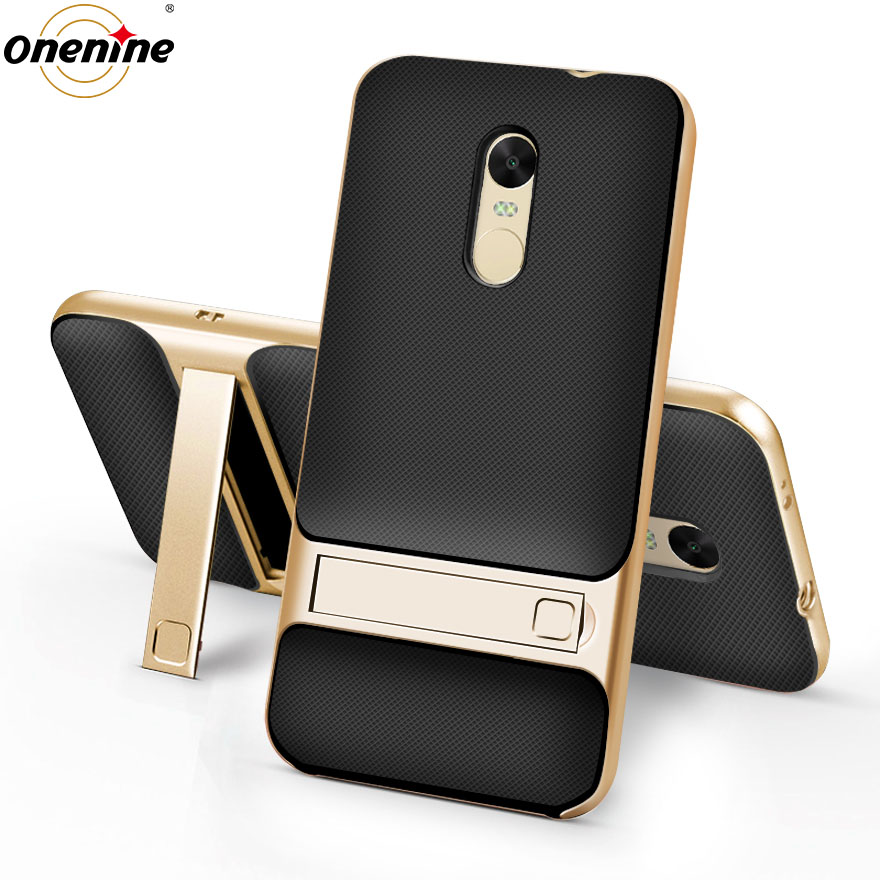 Cover posteriore telefono per Xiaomi Redmi Note 4X Custodia Cover 3D Stand PC TPU 360 Protettivo Silicon Coque Note 4 Global Ver Note4X Note4