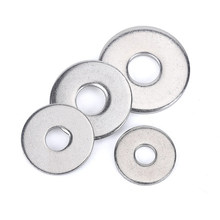 M3M2M2.5M1.6M4M5M6M8M10M12M16M20M24M27 GB97 A2 Spacer 304Stainless Steel Washer Plain Gasket for Screw Bolt Flat Metal M3Washer