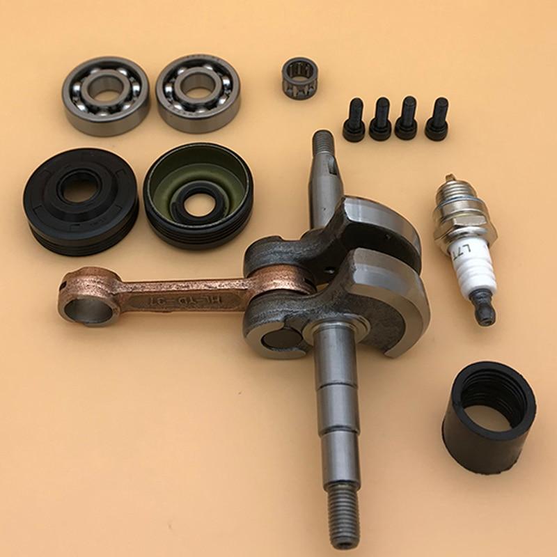 For Chain Chainsaw Engine Chainsaw Set Bearing 530029794 530056363 Seal 137 Oil Crankshaft 142 141 136 Saw HUSQVARNA Parts Motor