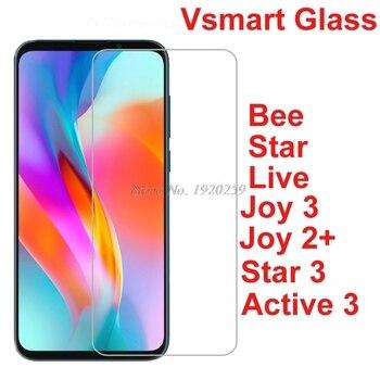 Перейти на Алиэкспресс и купить Закаленное стекло для Vsmart Active Bee Joy Live Star 3, Защитная пленка для экрана V Smart Active3 Joy 2 3 Star3 Bee Live
