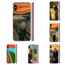 Soft Covers Cases For Apple iPhone 11 Pro X XS Max XR 4 4S 5 5C 5S SE SE2 6 6S 7 8 Plus The Scream By Munch