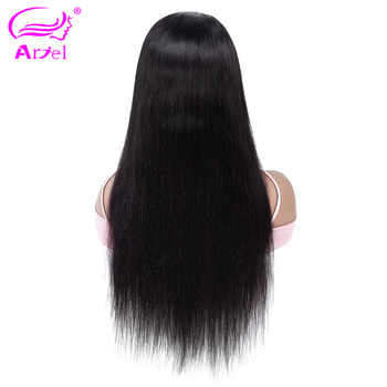 Full Lace Human Hair Wigs Straight Lace Wigs Transparent Lace Human Hair Wigs Brazilian Remy Glueless Full Lace Wig Human Hair