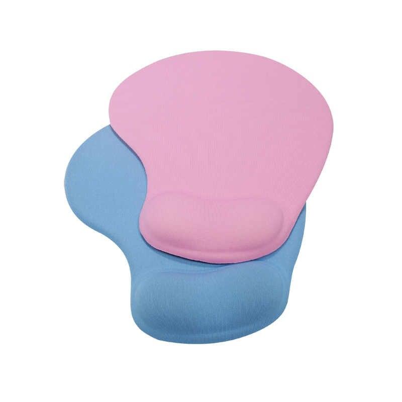 Almofadas de mouse 3d com almofada de pulso trackball apoio almofada tapetes de mouse mão antiderrapante travesseiro de mão ergonômico para o jogo escritório lol