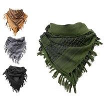 Толстый мусульманский шемаг Тактический пустынный арабский шарф для мужчин и женщин зимний ветрозащитный походный шарф в стиле милитари