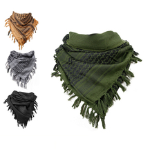 Thick Muslim Shemagh Tactical Desert Arab Scarves Men Women Winter Windy Military Windproof Hiking Scarf