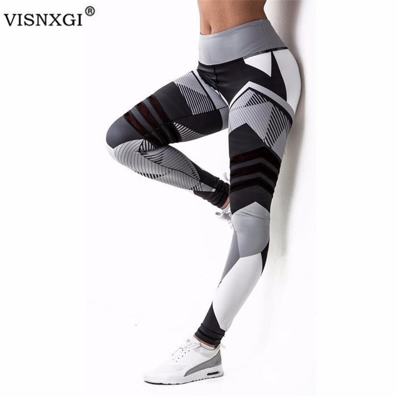 VISNXGI Women Leggings High Elastic Leggings Printing Fitness Legging Push Up Pants Clothing Sporting Leggins 2020 Sale XXXL