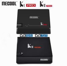 Mecool DVB T2 Android KI PRO KII PRO DVB S2 S905D TV Box Quad Core 2GB 16GB Mecool 4K Media player Dual Wifi K1 PRO K2 PRO TVBOX