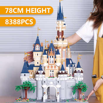New 16008 16060 Movie Toys The 71040 Cinderella Princess Castle and 71043 Magic Castle Set Assembly Building Blocks Kids Toys - DISCOUNT ITEM  0% OFF All Category