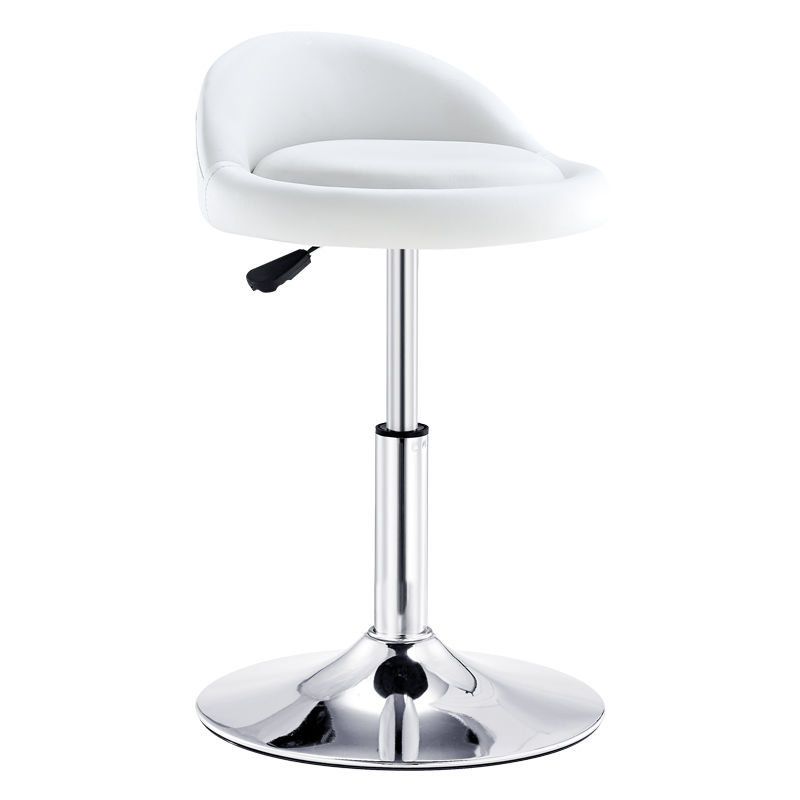 Bar Stool Modern Minimalist  Chair Lift Swivel Back  Home High   Manicure Round