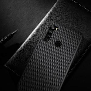 Image 5 - For Xiaomi Redmi Note 8 NILLKIN Textured Nylon fiber durable non slip Thin and light back cover For Xiaomi Redmi Note 8 Pro Case