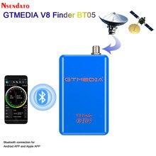 GTMEDIA Freesat V8 Finder BT05 1080P Satfinder DVB-S2 wizjer satelitarny dla androida IOS cyfrowy Bluetooth HD satelita Satfinder