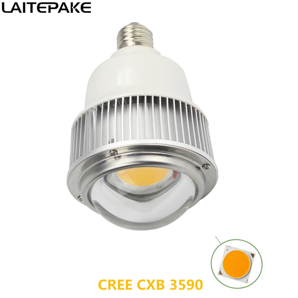 CREE CXB3590 Led Grow Light Cob E27 100W 7942.67lm AC 100-277V Phyto Grow Lamp For Indoor Grow Tent Hydroponics Plant