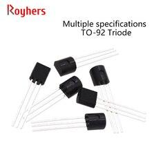 Pnp-Transistor 2N2222 2N2907 2N3904 2N4401 2N5089BU 2N5551 Diode IC NPN Power-Triode
