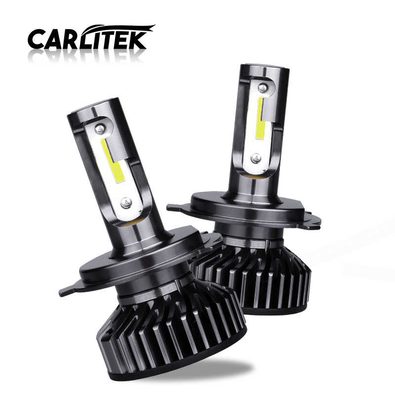 CARLitek H7 H4 Led Turbo 12V Car Auto Headlight DOB Bulb Lamp H 11 Led HB4 HB3 H7 H8 Fog Head Light 4300K 5000K 6500K 10000LM