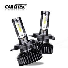 CARLitek H7 H4 Turbo 12V araba oto far DOB ampul lamba H 11 Led HB4 HB3 H7 H8 sis başkanı işık 4300K 5000K 6500K 10000LM