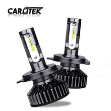 CARLitek bombilla Led Turbo para faro delantero de coche, luz antiniebla, 4300K, 5000K, 6500K, 10000LM, 12V, H7, H4, HB3, H7, H8