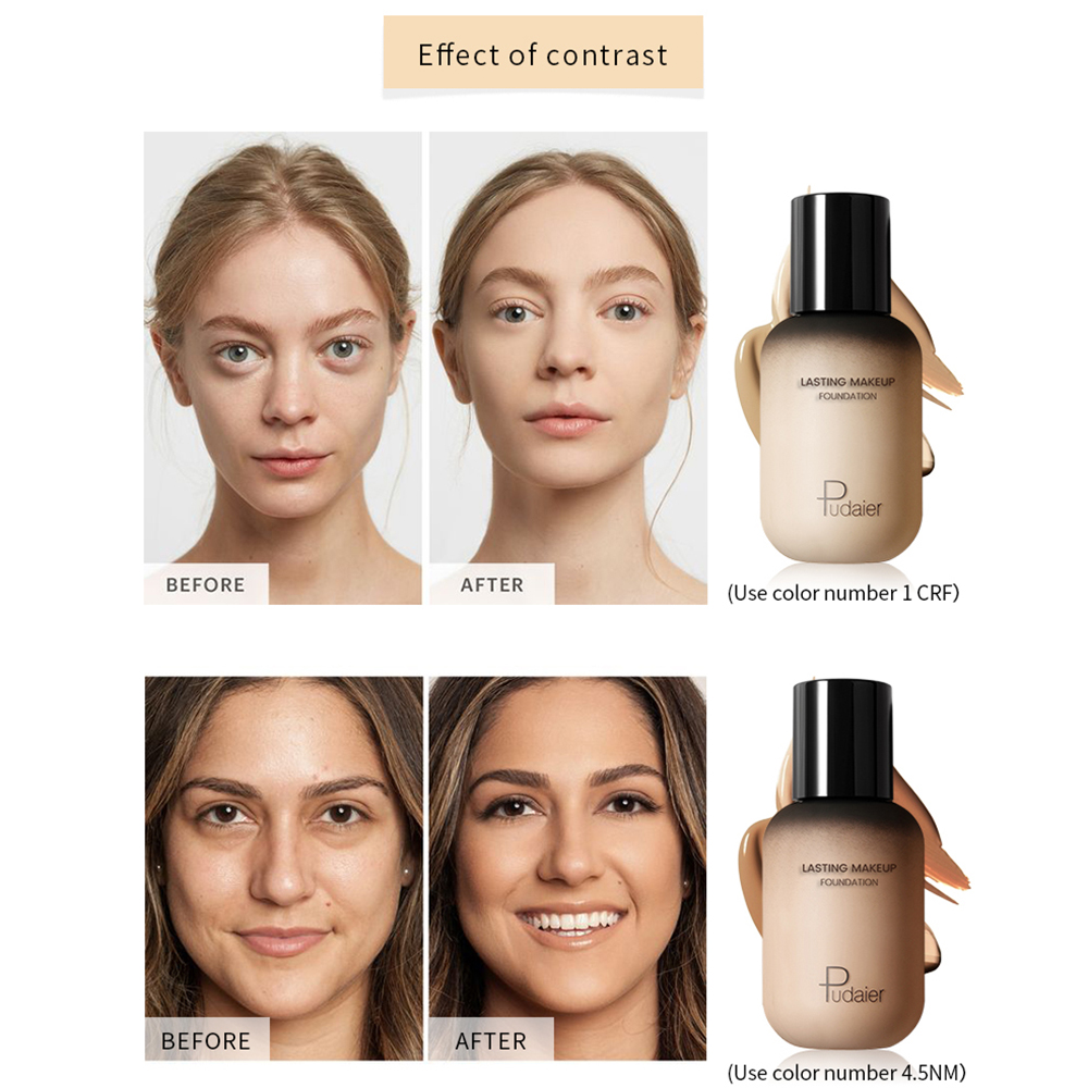 New 40ml Foundation Soft Matte Long Oil Control Concealer Foundation Cream Fashionable Women 39 s Makeup Foundation in Face Foundation from Beauty amp Health