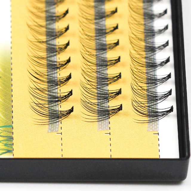 60pcs Professional Makeup Individual Cluster EyeLashes Grafting Fake False Eyelashes eyelash extension individual eyelash bunche 2