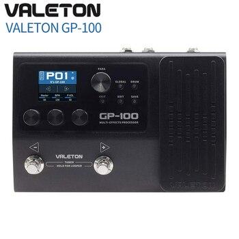 Valeton/GP-100-modelo irmão ampero ultra-compacto multi-effector processador loop/tambor, pedal de baixo guitarra com 140