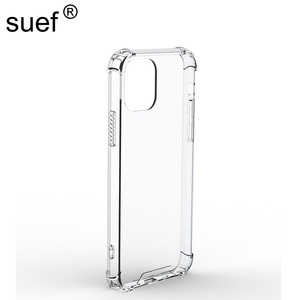 Clear Hybrid Hard PC Acrylic Back Case Soft TPU Frame Bumper Shockproof Cover Shell for iPhone 6 6S 7 8 Plus X XS Max XR 11 Pro(China)