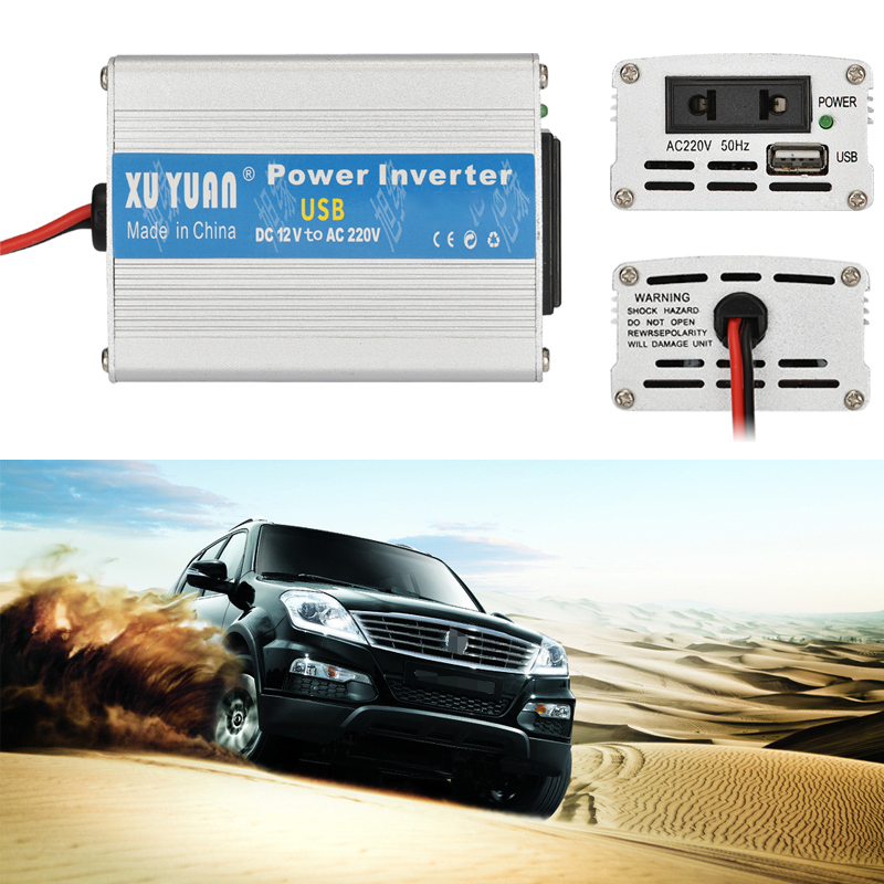 Car <font><b>Inverter</b></font> <font><b>1000W</b></font> 12/24V to 110/220V Auto <font><b>Power</b></font> <font><b>Inverter</b></font> Universal Car Adapter Voltage Transformer <font><b>Power</b></font> Converter + USB Port image