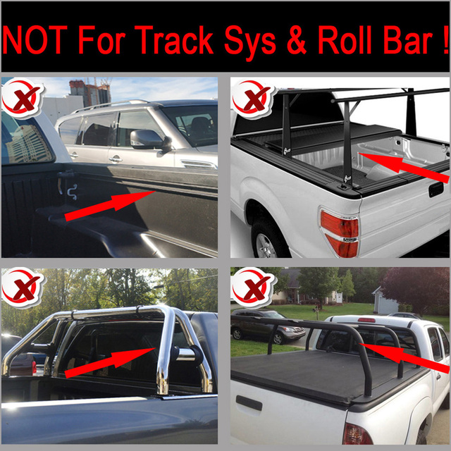 5.8/69.9 Inch Lock & Roll Up Soft Tonneau Cover Replacement for 2019+ Silverado/Sierra 1500