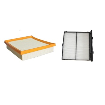 2pcs/set Air Filter 16546-AA150+Cabin 72880-FL000 For Subaru Forester XV 2018 2019 - sale item Auto Replacement Parts