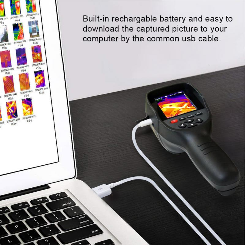HT-18 Digital Imager Thermal Camera With Protective Cover And Infrared Imaging Sensor 14