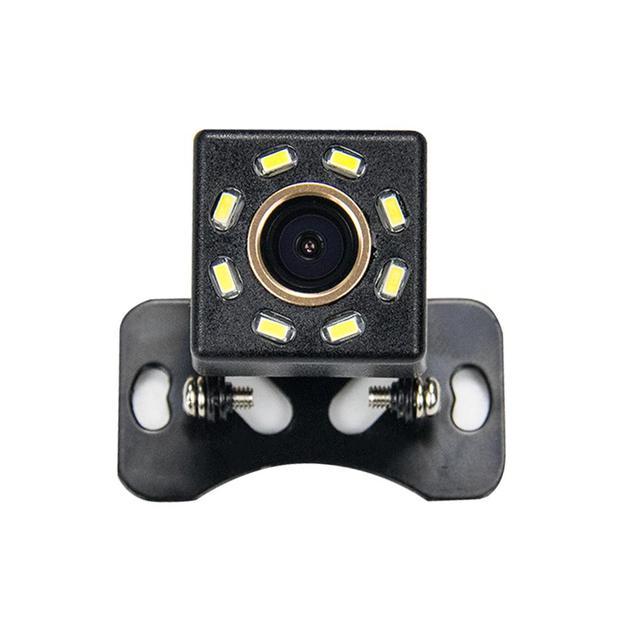 Misayaee HD 720p Golden Camera Universal Car Rear View Reversing Backup camera 8LED Night Vision Auto Parking Camera Waterproof