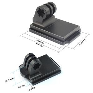Image 2 - BGNing Helmet Aluminum Fixed Mount for GOPRO Max 9 8 7 for AKASO EK7000 for Insta360 for Osmo Action Camera and NVG Mount Base