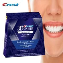 3D Whitestrips Luxe 전문 효과 구강 위생 치아 미백 치과 치료 5/10/20 치료 Original White Strips