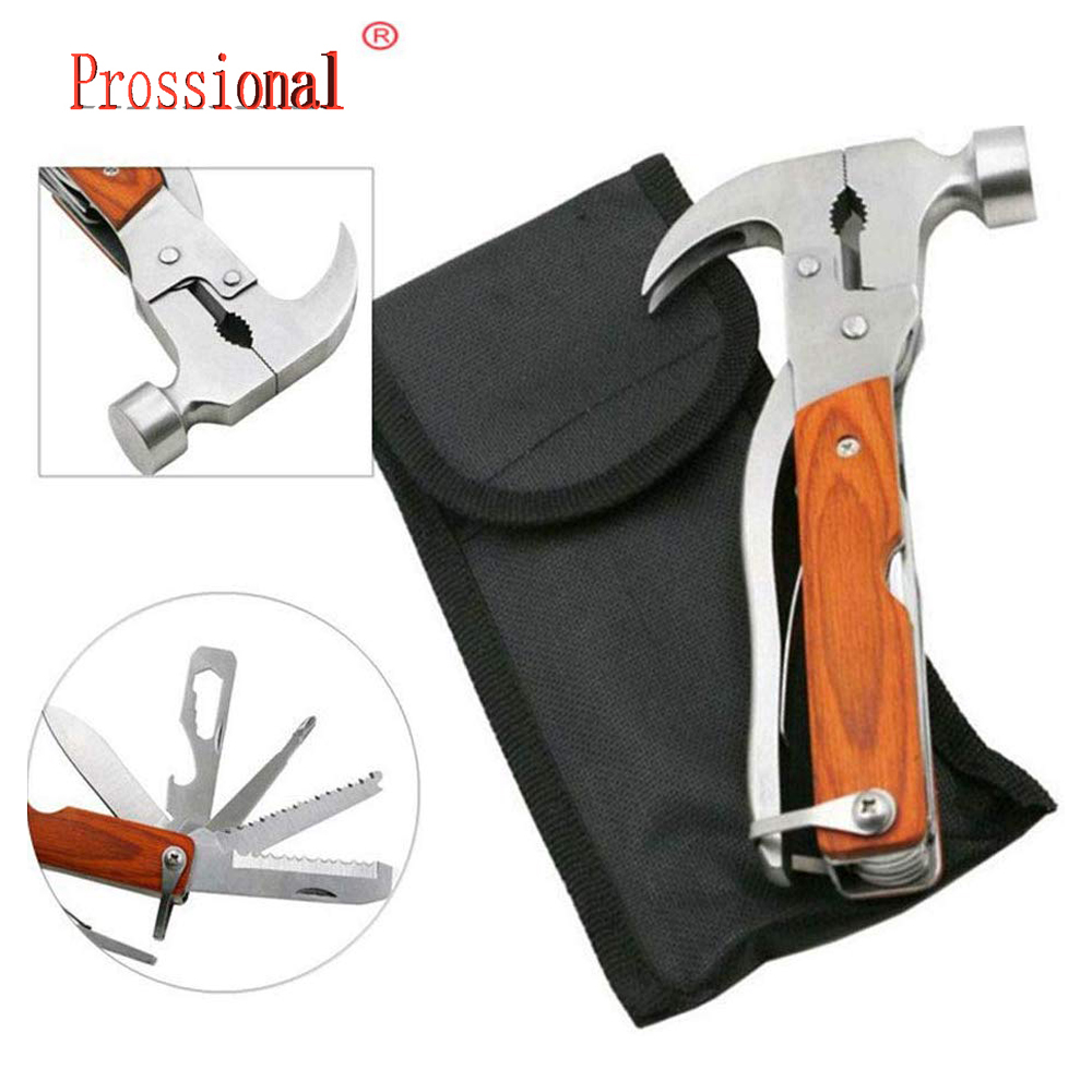 New Multi-functional Combination Claw Hammer Universal Car Emergency Hammer Car Life-Saving Safety Hammer Broken Window