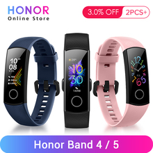 """Huawei Honor Band 4 Band 5 Smart Armband Gesundheit Fitness Armband Tracker Amoled 0.95 """"Touch Heart Rate Monitor"""