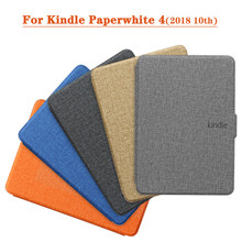 Magnetische Smart Cover Case Voor Amazon Nieuwe Kindle Paperwhite 2018 Vrijgegeven Case funda Voor Kindle Paperwhite 4 10th Generatie Case(China)
