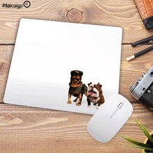 цены Promotions Vivid Hot Pug Dog New Design Silon Anti-slip Mousepad Computer Lock Edge Mouse Pad For Optal Trackball Mouse