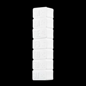 5PCS /Lot Days Tablet Pill Box Travel Emergency First Aid Kits Weekly Medicine Storage Organizer Pills Container Holder Case