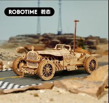 2020 New 3D Three-dimensional Jigsaw Wooden Model Car Steam Train DIY Jigsaw Toy Truck Jeep Birthday Present