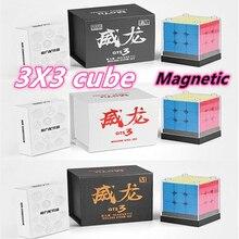 Moyu Weilong GTS3M Magnetico 3X3x3 cubo magico 3x3 cubo di velocità di puzzle GTS 3LM cubo magico
