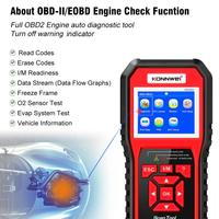 HOT Best OBD 2 Auto scanner OBD2 Scanner KONNWEI KW850 Full ODB2 Scanner Supports Multi languages ODB 2 Auto Diagnostic Scanner
